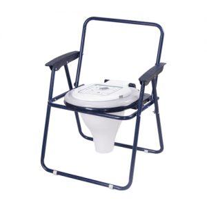 توالت مبله تاشو رنگی با درب حلقه spt500.500