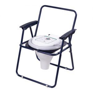توالت مبله تاشو کلاف دار رنگی با درب حلقه تتا۵۰۰٫۵۰۰