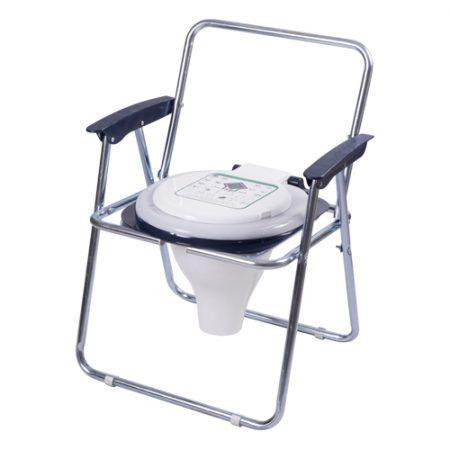 توالت مبله تاشو کلاف دار گالوانیزه با درب حلقه۵۰۰٫۵۰۰