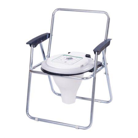 توالت مبله تاشو گالوانیزه با درب حلقه spt500.500